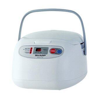 ขอเสนอ Sharp หม้อหุงข้าวระบบคอมพิวเตอร์ รุ่น KS-ZT18 ขนาด 1.8 ลิตร (White)