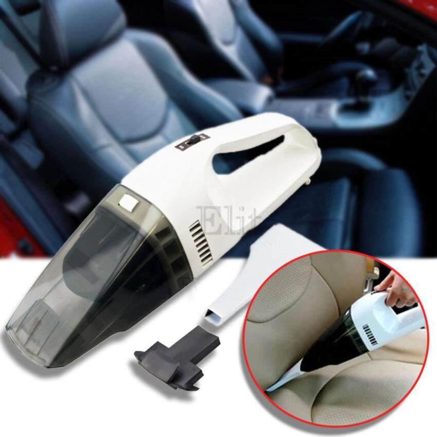 Sinlin เครื่องดูดฝุ่นแบบมือถือ สำหรับรถยนต์ Wet and dry Portable Car Vacuum (White)