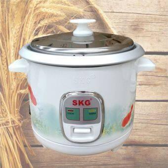 SKG หม้อหุงข้าว 1.0 ลิตร รุ่น SK-100 (ลายปลาทอง)