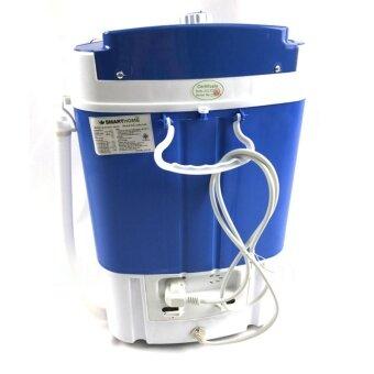 SMARTHOME เครื่องซักผ้ามินิ เครื่องซักผ้าขนาดเล็ก 2.5 Kg. รุ่นSM-MW01 - สีฟ้า (image 4)