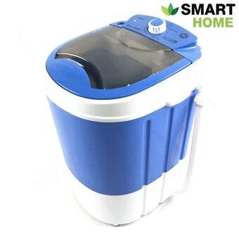 SMARTHOME เครื่องซักผ้ามินิ เครื่องซักผ้าขนาดเล็ก 2.5 Kg. รุ่นSM-MW01 - สีฟ้า (image 0)