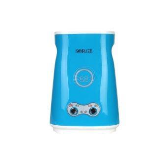 Sorge Egg master เครื่องทำไข่ม้วน 2 ช่อง รุ่นใหม่มีสวิตซ์ - สีน้ำเงิน