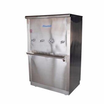 Standard By Rwc ตู้ทำน้ำเย็นสแตนเลส ขนาด 4 ก๊อก (Silver)