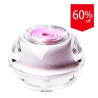 Startup เครื่องทำไอระเหย Crystal Night Light Air Cool MistHumidifier - Pink