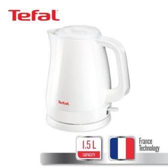 Tefal กาต้มน้ำไฟฟ้า ขนาดความจุ 1.5 ลิตร รุ่น KO150166 -White