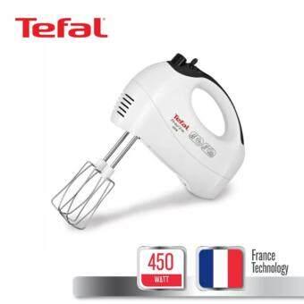 Tefal เครื่องเตรียมอาหารแบบมือถือ กำลังไฟ 450 วัตต์ รุ่น HT410138 - สีขาว