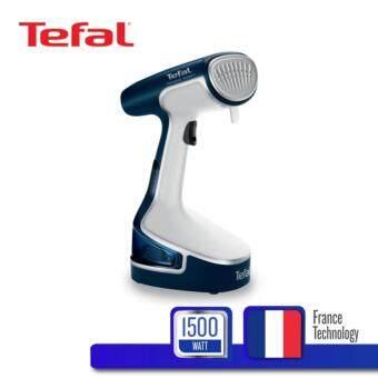 Tefal หัวรีดผ้าสแตนเลส STEAMBRUSH ACCESS\u0092STEAM ความจุแท้งน้ำ 200 มล. รุ่น DR8085E1 -Blue