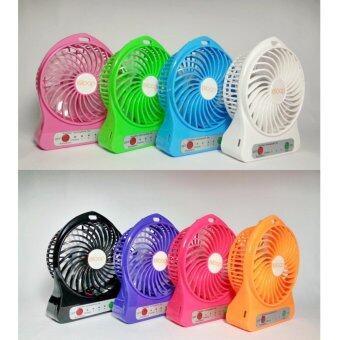 ซื้อ/ขาย TKspyShop mini fan พัดลมแบบพกพา ลมแรง (ฟ้า)
