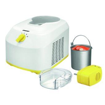 UNOLD Ice Cream Maker เครื่องทำไอศครีม รุ่น 48879 (White/Yellow)