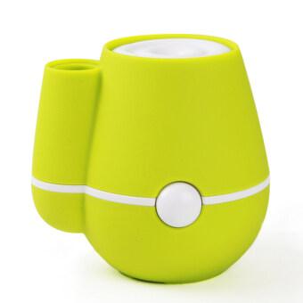 ต้องการขาย USB Flower Vase Shape Home Office 220ml Air Mist PurifierHumidifier Green