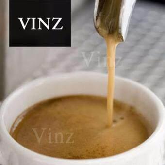 VINZ Coffee Bean เมล็ดกาแฟ อาราบิก้า ซูพรีโม่ 100% คั่วเข้ม 2 ระดับ2 ถุง (400g)