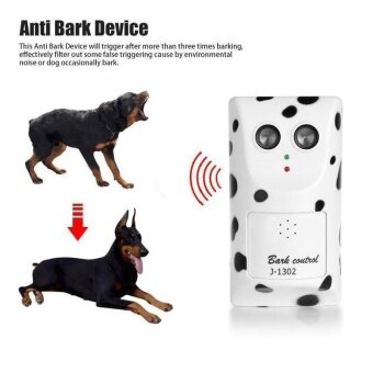 Harga 1pc Ultrasonic Anti Barking Stop Bark Pet Dog Repeller TrainingDevice Trainer Outdoor indoor Stop dog Barking Device - intl