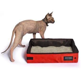 เสนอราคา กระบะทรายแมวสีแดง 2 แกลลอน