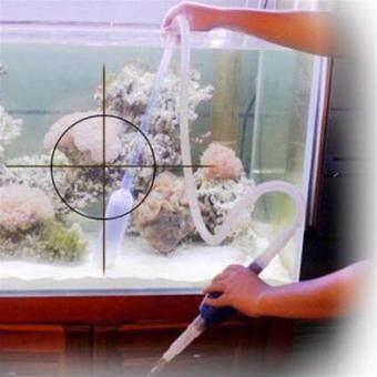 อุปกรณ์ถ่ายน้ำทำความสะอาดตู้ปลา แถม เครื่องวัดอุณหภูมิตู้ปลา มูลค่า499.- - 4