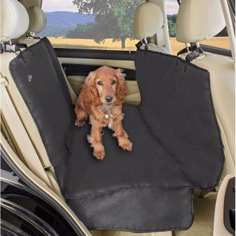 A2S Luxury Hammock Pet Seat Cover  Cargo Cover 3 Layers\nWaterproof - Extra Dog Seat Belt  Convenient Zipper - Non-Slip\nfor Cars SUVs  Trucks with Double Flaps  Absolutely\nComfortable - intl