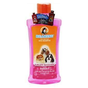 Bearing Tick and Flea for Small Breeds Dog Shampoo 300ml (1 bottle)แชมพู สุนัข แบร์ริ่ง สูตร 7 ขจัดเห็บ หมัด สำหรับสุนัขพันธุ์เล็ก 300มล. (1 ขวด)