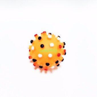 ขอเสนอ Bulltus Store Toy for Pet GT090872OS บอลยางมีเสียงสีส้ม