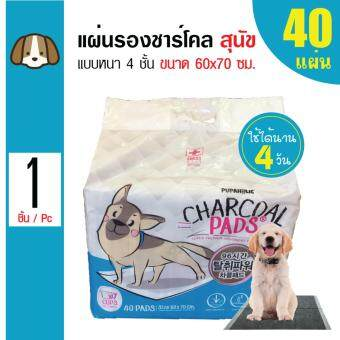ต้องการขาย Charcoal Pads แผ่นรองซับสัตว์เลี้ยง แผ่นรองฉี่สุนัขสำหรับสุนัขทุกสายพันธุ์ ขนาด 60x70 ซม. (40 แผ่น/ แพ็ค)