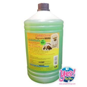 ต้องการขาย Crystal Chorusน้ำยาดับกลิ่น กลิ่นjazzกลิ่นหอมสดชื่นใช้พ่นหรือถูพื้น บริเวณที่สุนัขอาศัย หรือบริเวณที่ขับถ่าย3000มล