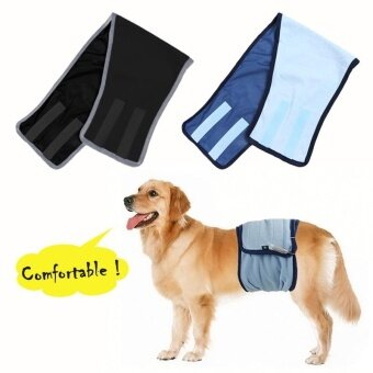 Dog Wrap Pooch Pants Belt Underwear Physiological Pants for BigDogs (L) - intl