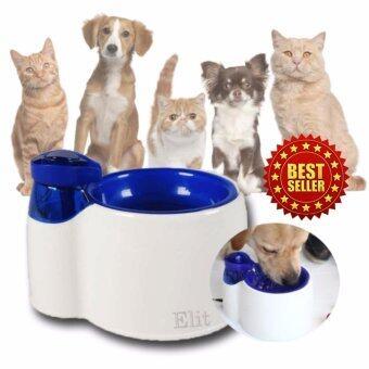 Elit ที่ให้น้ำแมว สุนัข สัตว์เลี้ยง แบบน้ำพุ Pet Drinking Fountain รุ่น PDF2204-SD
