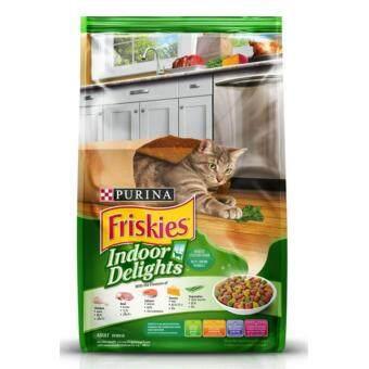 ซื้อ Friskies Indoor Delights 1.1 Kg. ฟริสกี้ส์ รสปลาแซลมอนและผัก ขนาด 1.1 กิโลกรัม