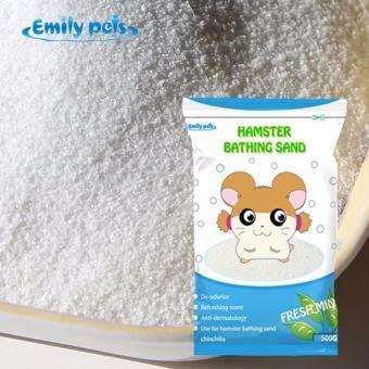 Hamster Sand ทรายอาบน้ำหนู กลิ่นมิ้นท์ สำหรับหนูแฮมเตอร์ ขนาด 500 กรัม - 2