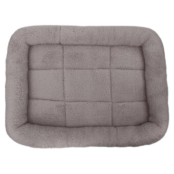 Harga Pet Bed Cushion Mat Pad Dog Cat Cage Kennel Crate Warm Cozy Soft House (Grey) (M) - intl