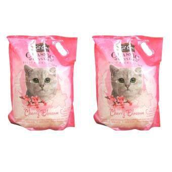เปรียบเทียบราคา Kitcat ทรายแมวคริสตัล กลิ่นซากุระ (5lt) *2ถุง