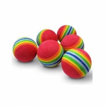 ลดราคา Pawise ลูกบอลโฟมเรนโบว์ บรรจุ 1 ลูก