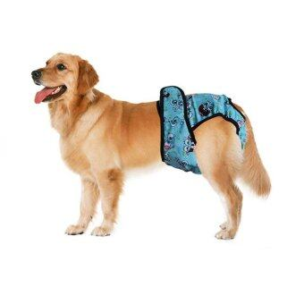 Pet Large Dog Diaper Sanitary Physiological Pants Washable FemaleDog Shorts Panties Menstruation Underwear Briefs - intl