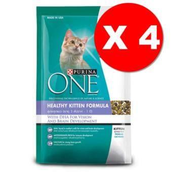 Purina One Healthy Kitten Formula 1.3Kgs x4 Units เพียวริน่า วัน สูตรลูกแมว (3 สัปดาห์ - 1 ปี) ขนาด 1.3 กิโลกรัม 4 ถุง
