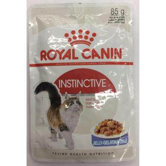 Royal Canin Cat Pouch อาหารเปียกแมว Instinctive Jelly 85g จำนวน 12 ซอง