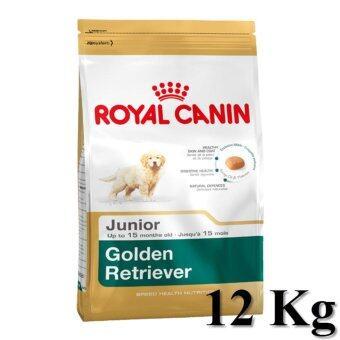 Royal Canin Golden Retriever Junior 12Kg อาหารสุนัข แบบเม็ด สำหรับลูกสุนัขพันธุ์พันธุ์โกลเด้น รีทรีฟเวอร์ 2 - 15 เดือน ขนาด 12กิโลกรัม