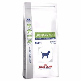Royal Canin Veterinary Diet - URINARY S/O Small Dog Under 10kg(โรคนิ่ว) อาหารประกอบการรักษาโรคในสุนัข (ชนิดเม็ด)สำหรับสุนัขพันธุ์เล็ก ขนาด4กก.