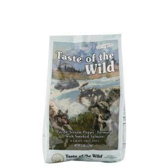 TASTE OF THE WILD puppy smoked salmon อาหารลูกสุนัข ทำจากแซลมอน 1.5lb หรือ 0.78kg