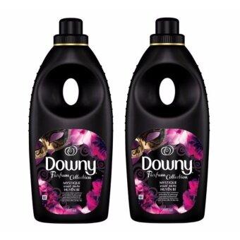 Downy Mystique ดาวน์นี่ มิส-ทีค ผลิตภัณฑ์ปรับผ้านุ่มสูตรเข้มข้นพิเศษ 900 มล. x 2 ขวด