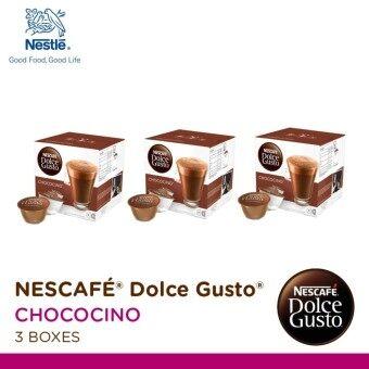 Nescafe Dolce Gusto แคปซูลกาแฟ Chococino ( จำนวน 1 แพ็ค 3 กล่องๆ ละ 16 แคปซูล)