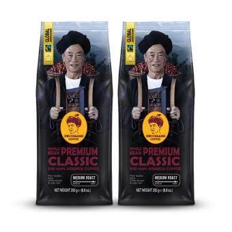 กาแฟดอยช้าง - Premium Classic(250 กรัม 2แพ็ค)