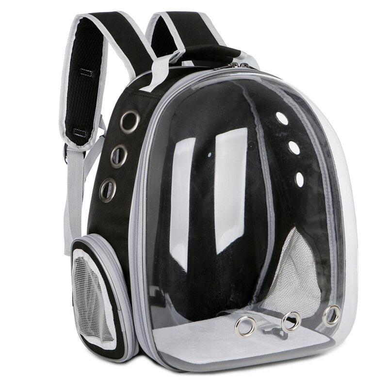 Pet Would กระเป๋าใส่สัตว์เลี้ยงทรงอวกาศ กระเป๋าใส่แมวและหมาแบบสะพายหลัง มี7สี #C07