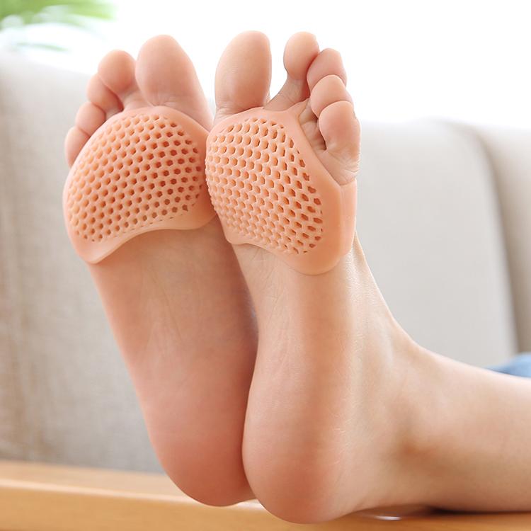 #1901 ซิลิโคนรองส้นเท้า ถนอมส้นเท้า แก้ปวดส้นเท้า ส้นเท้าแตก ใส่ได้ทั้งชายหญิง