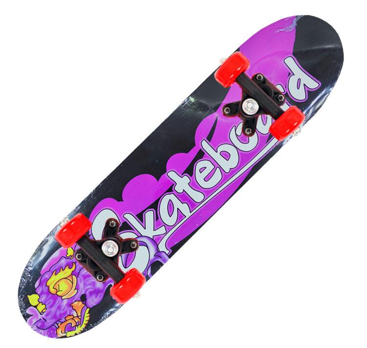 [จัดส่งภายใน 2-5 วัน ส่งจากประเทศไทย??]Skateboard [60*15*8cm] สเก็ตบอร์ดเด็ก 0 - 12 ปี สเก็ตบอร์ด สเก็ตบอร์ดเด็ก เริ่มต้นสี่ล้อสเก็ตบอร์