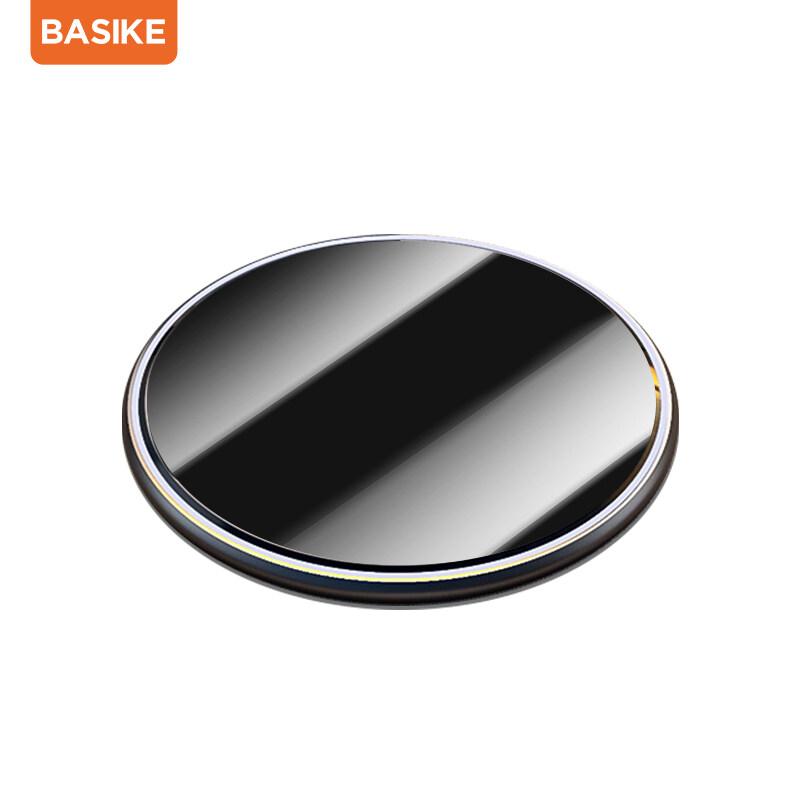 Basike?ได้รับ2-3วัน?15วัตต์ที่ชาร์จไร้สาย 5V/3Aแท่นชาร์จไร้สายTYPE-C ชาร์จเร็วสำหรับ iPhone 12, iPhone 11 iPhone8, Samsung S6/S7/S8/, Galaxybasike Note7/ Note8,Huawei Xiaomi
