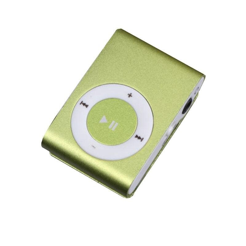1-8GB Support Micro SD TF Mini Clip Metal USB MP3 Music Media Player - intl