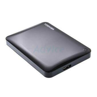 ขายด่วน ฮาร์ดดิสก์ภายนอกความจุ 1 TB. Ext. 2.5 Toshiba Canvio Connect IIBlack3.0 ของแท้มีประกัน