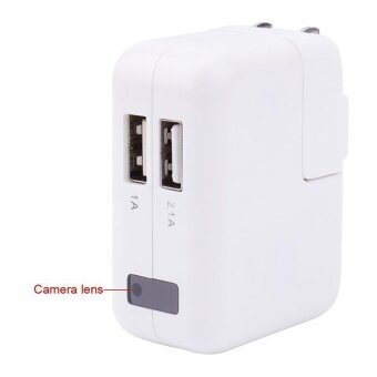 1080P Mini USB Wall Charger DVR Recorder Motion Detection Hidden HDCamera Spy - intl
