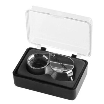 Harga 10X-18mm Mini Triplet Jeweler Eye Loupe Magnifier Magnifying GlassJewelry Diamond (แว่นขยายขนาด 10X-18 มิลลิเมตร)
