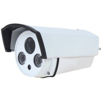 กล้องวงจรปิด กันน้ำ 1200 TVL รุ่น GCC11 มี IR 2 (White)