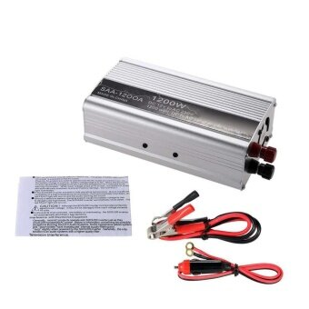 1200W DC12V to AC220V Portable Modified Sine Wave Power Inverter Charger HOT - intl