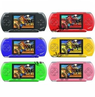 16 bit Handheld Game Console Portable Video Game 150 Games RetroMegadrive PXP PVP PSP (Red) - intl - 2